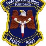 Broderie embleme aviatie