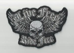 Broderie embleme motociclisti